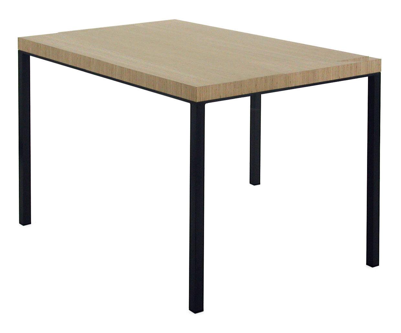 table big brother 120 x 80 cm bois clair et noir cuivr 120 x 80 cm zeus. Black Bedroom Furniture Sets. Home Design Ideas