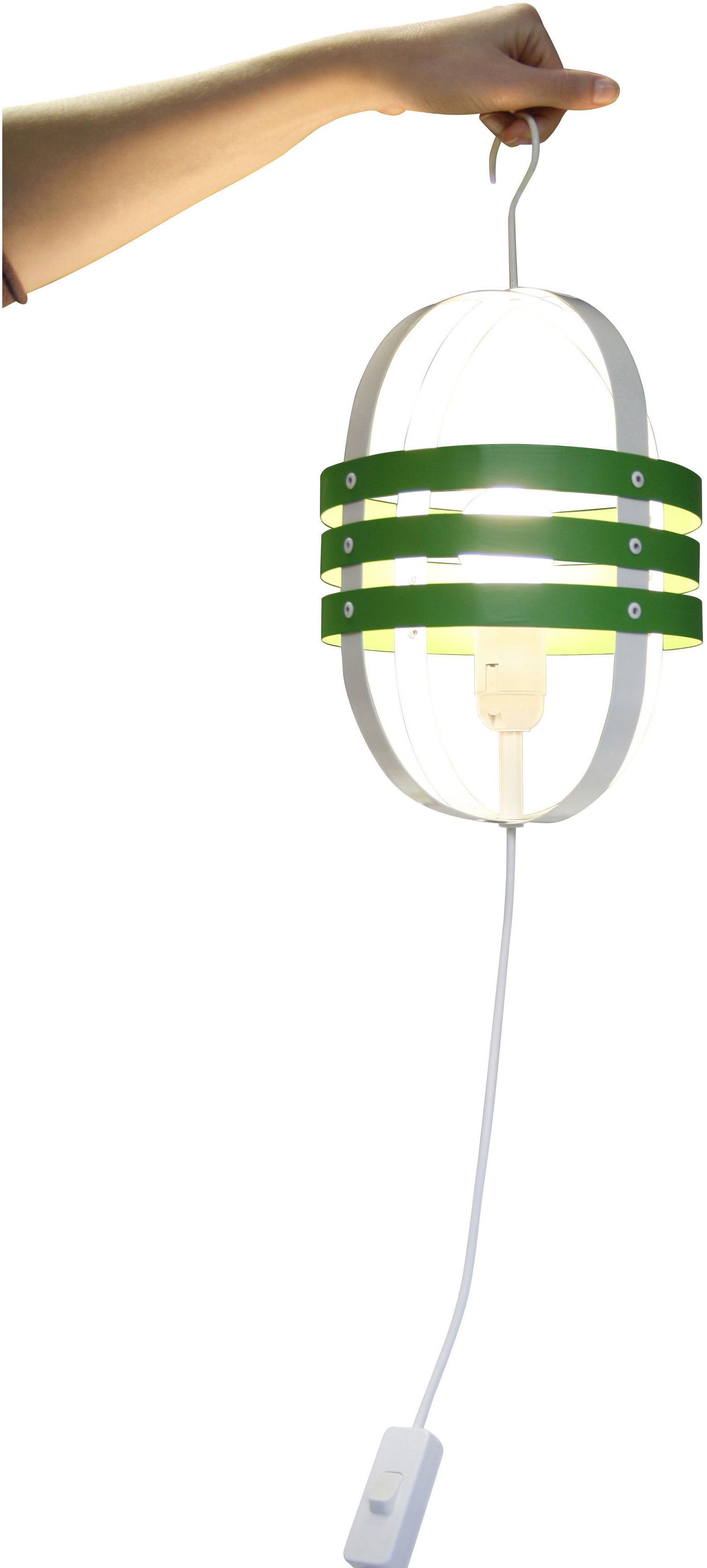 r miniscence lampe handlampe mit haken gr n by made in design editions made in design. Black Bedroom Furniture Sets. Home Design Ideas