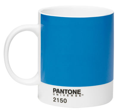 Mug Pantone Universe™ / 37,5 cl - ROOM COPENHAGEN blanc,bleu en céramique