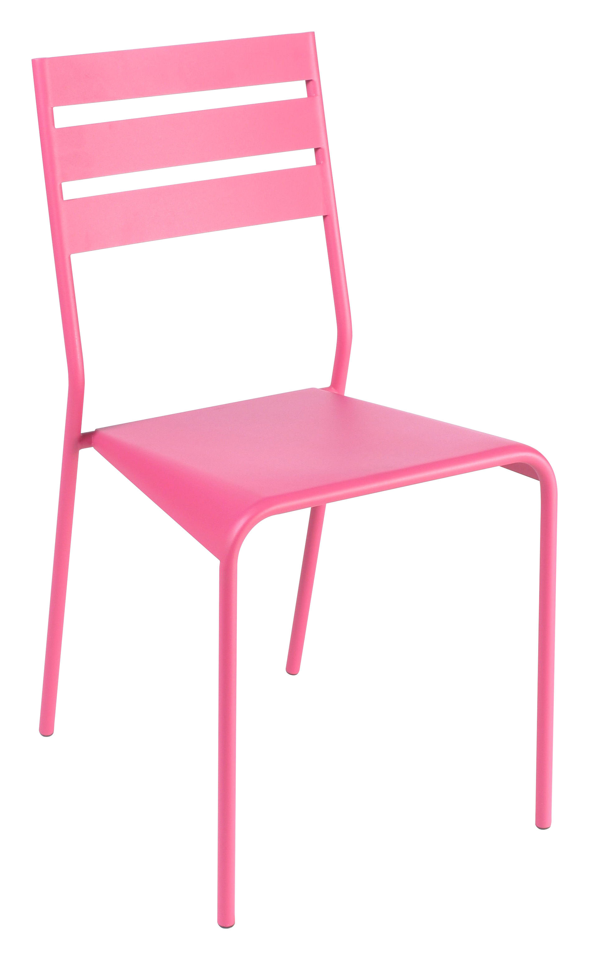 Chaise empilable facto fuchsia fermob for Chaise empilable