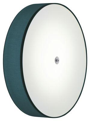 Applique Discovolante LED Plafonnier Ø 60 cm Modoluce bleu pétrole en matière plastique
