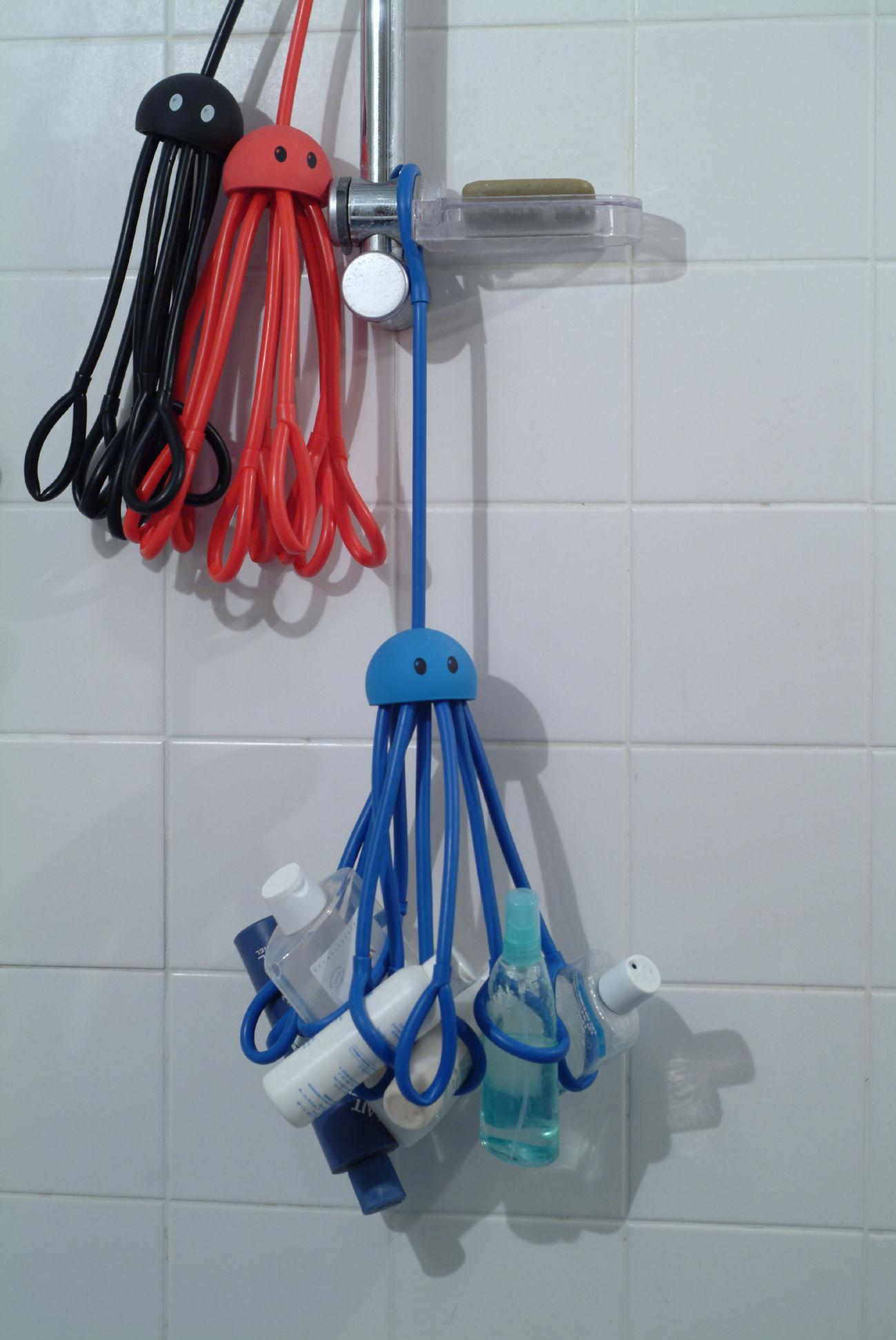 Octopus Object Organiser Shower Octopus Blue By Pa Design
