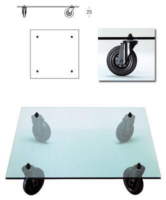 Table Basse Gae Aulenti 110 X 110 Cm Fontana Arte