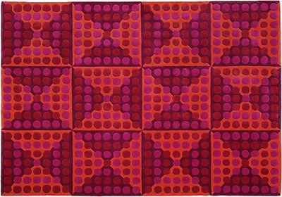 tapis spiegel 170 x 240 cm panton 1965 rouge rose. Black Bedroom Furniture Sets. Home Design Ideas