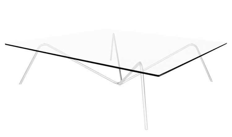 Table basse gerris verre gallix for Solidworks design table zoom
