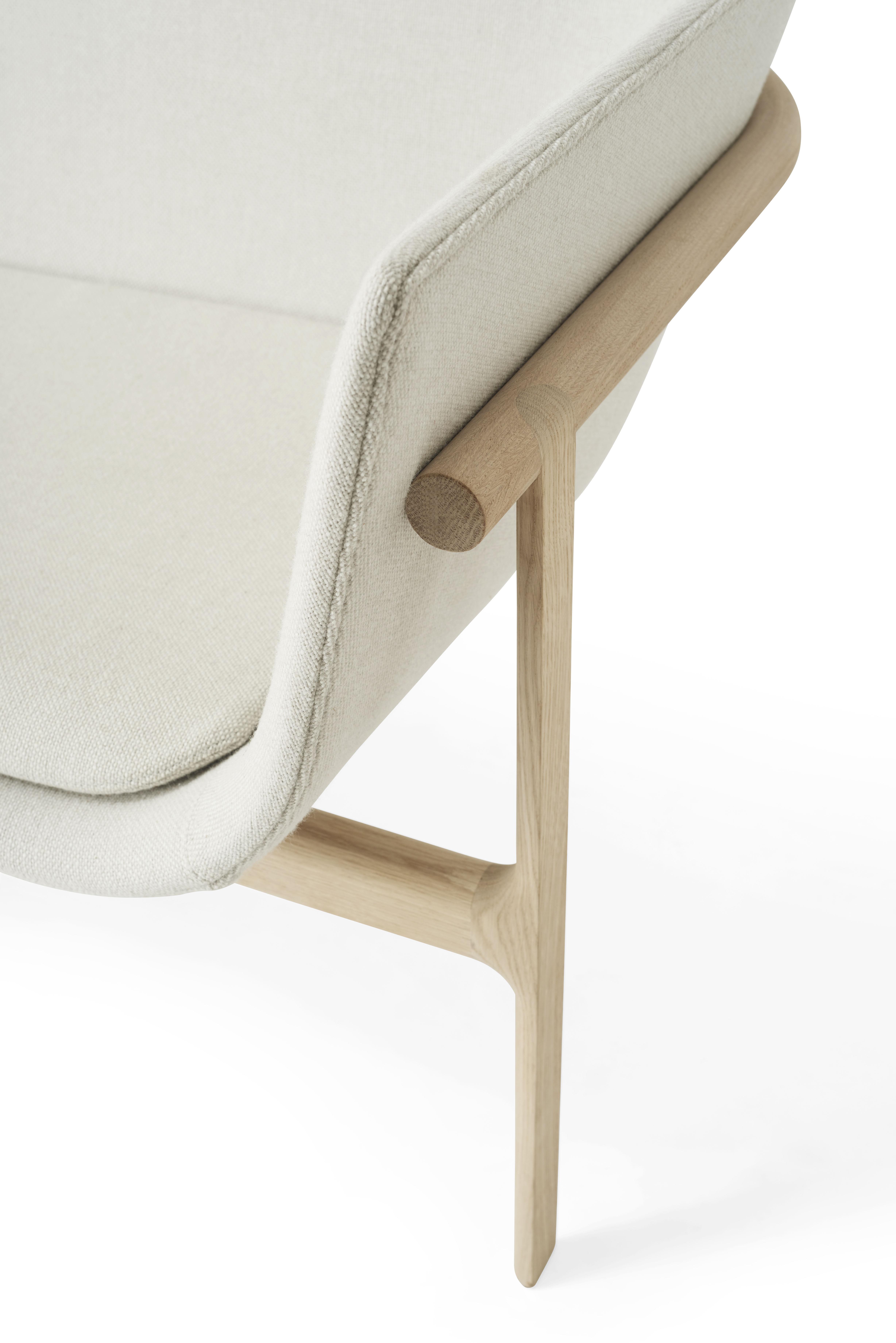 canap droit tailor tissu l 180 cm tissu blanc bois menu. Black Bedroom Furniture Sets. Home Design Ideas