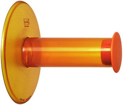 d rouleur de papier toilette plug n roll orange transparent koziol. Black Bedroom Furniture Sets. Home Design Ideas