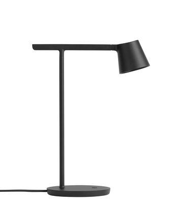 Lampe de table Tip LED /Métal - Orientable - Muuto noir en métal