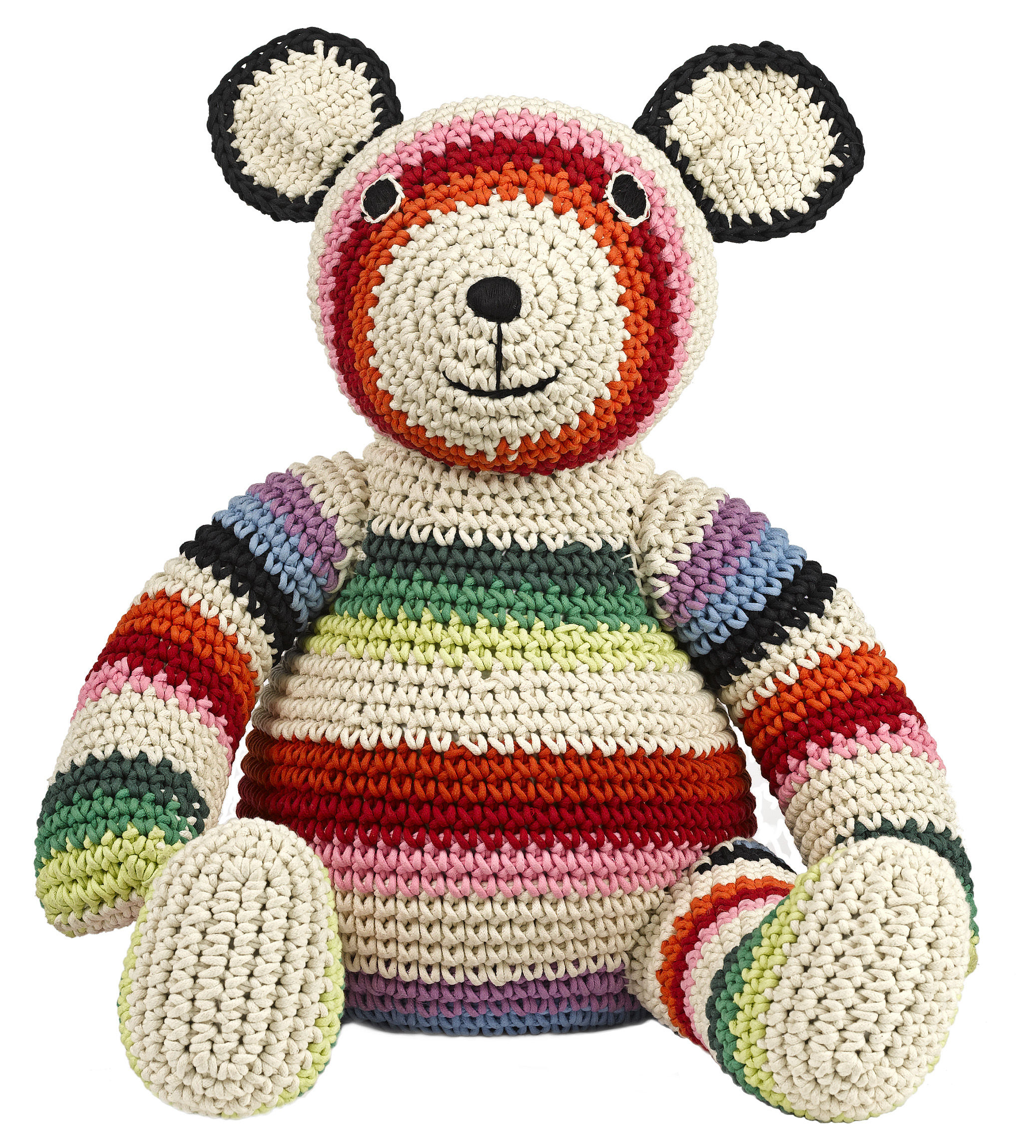 mama teddy cuddly toy crochet cuddly toy mix by anne claire petit. Black Bedroom Furniture Sets. Home Design Ideas