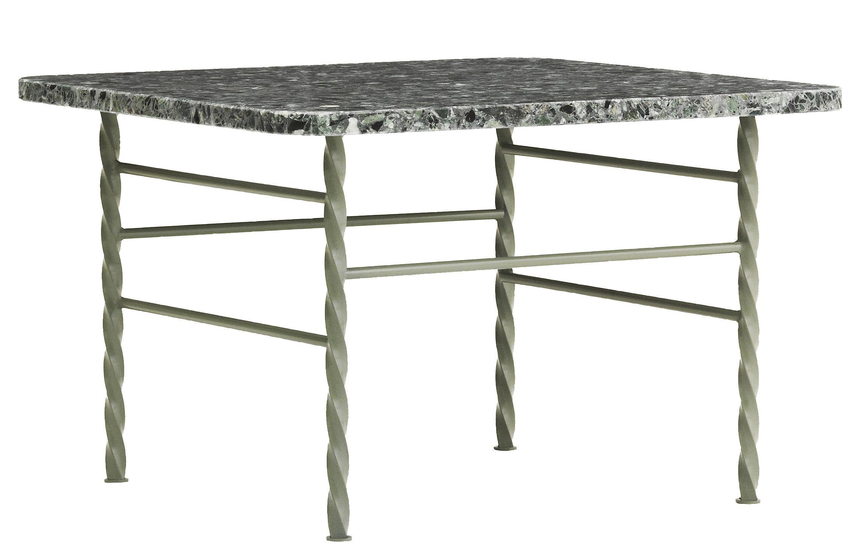 table basse terra large 55 x 55 x h 36 cm terrazzo vert normann copenhagen. Black Bedroom Furniture Sets. Home Design Ideas