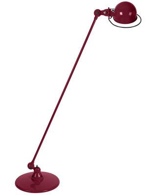Liseuse Loft / 1 bras articulé - H 120 cm - Jieldé bourgogne brillant en métal