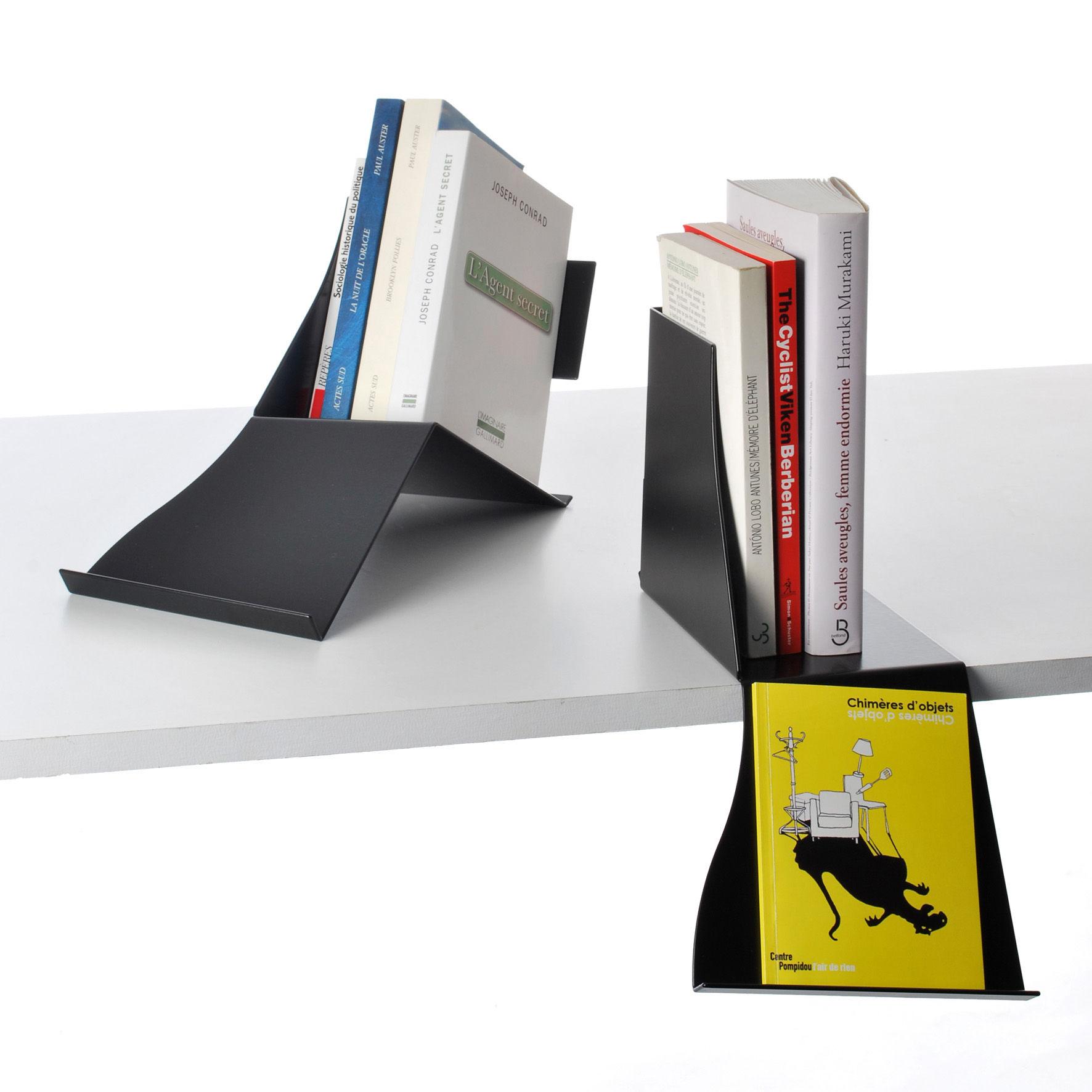 pr sentoir livre liber libri noir pa design. Black Bedroom Furniture Sets. Home Design Ideas