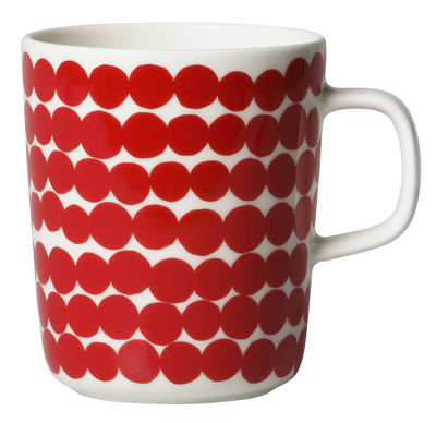 Mug Räsymatto / 25 cl - Marimekko rouge en céramique