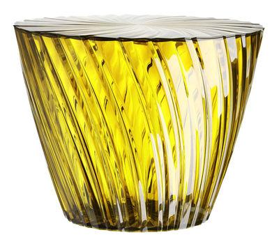 Sparkle Couchtisch / 45 cm x H 35 cm - Kartell - Honig