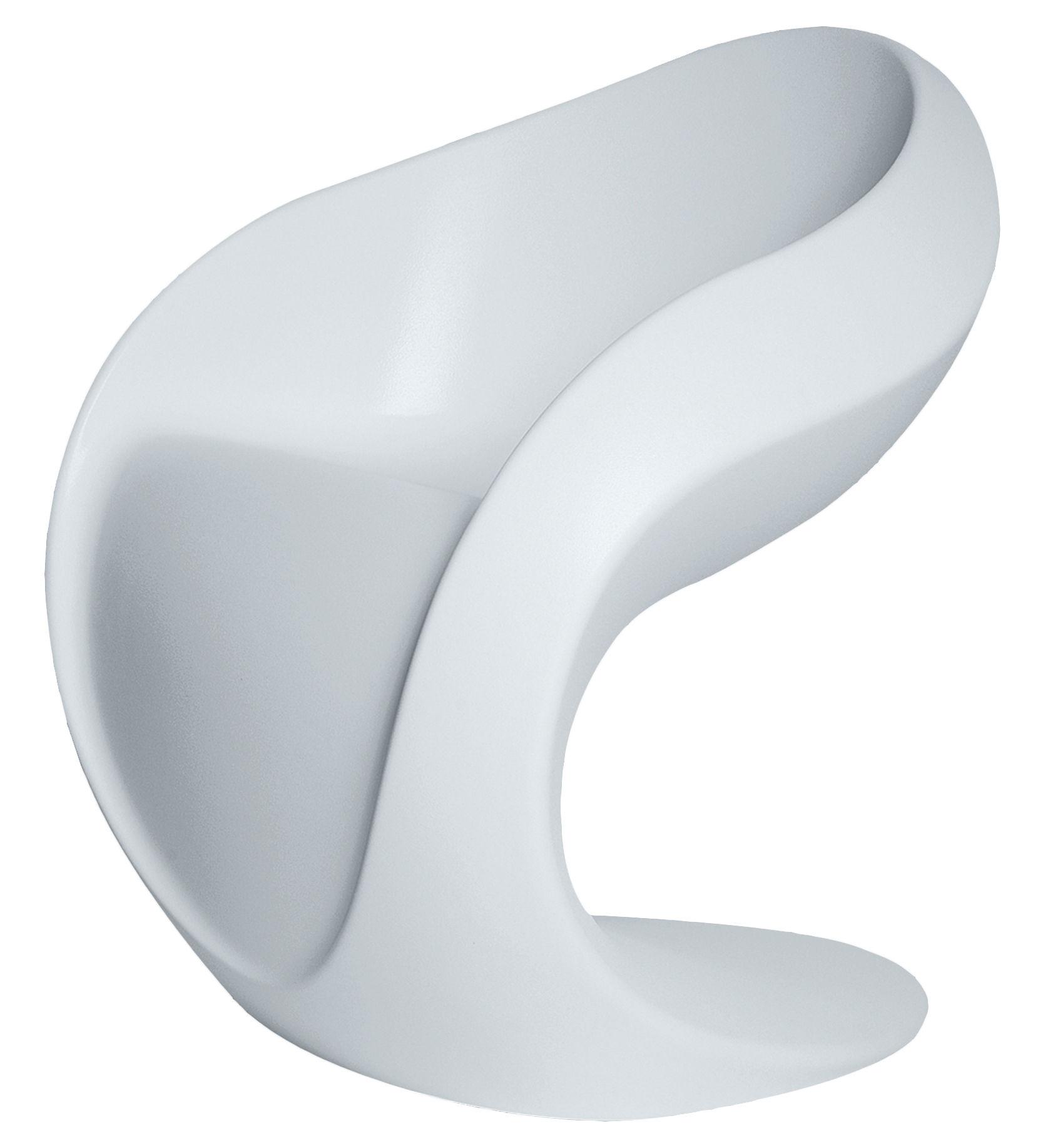 fauteuil miss petra plastique blanc myyour. Black Bedroom Furniture Sets. Home Design Ideas