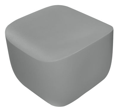 Mobilier - Tables basses - Pouf Translation - Qui est Paul ? - Gris - Polyéthylène