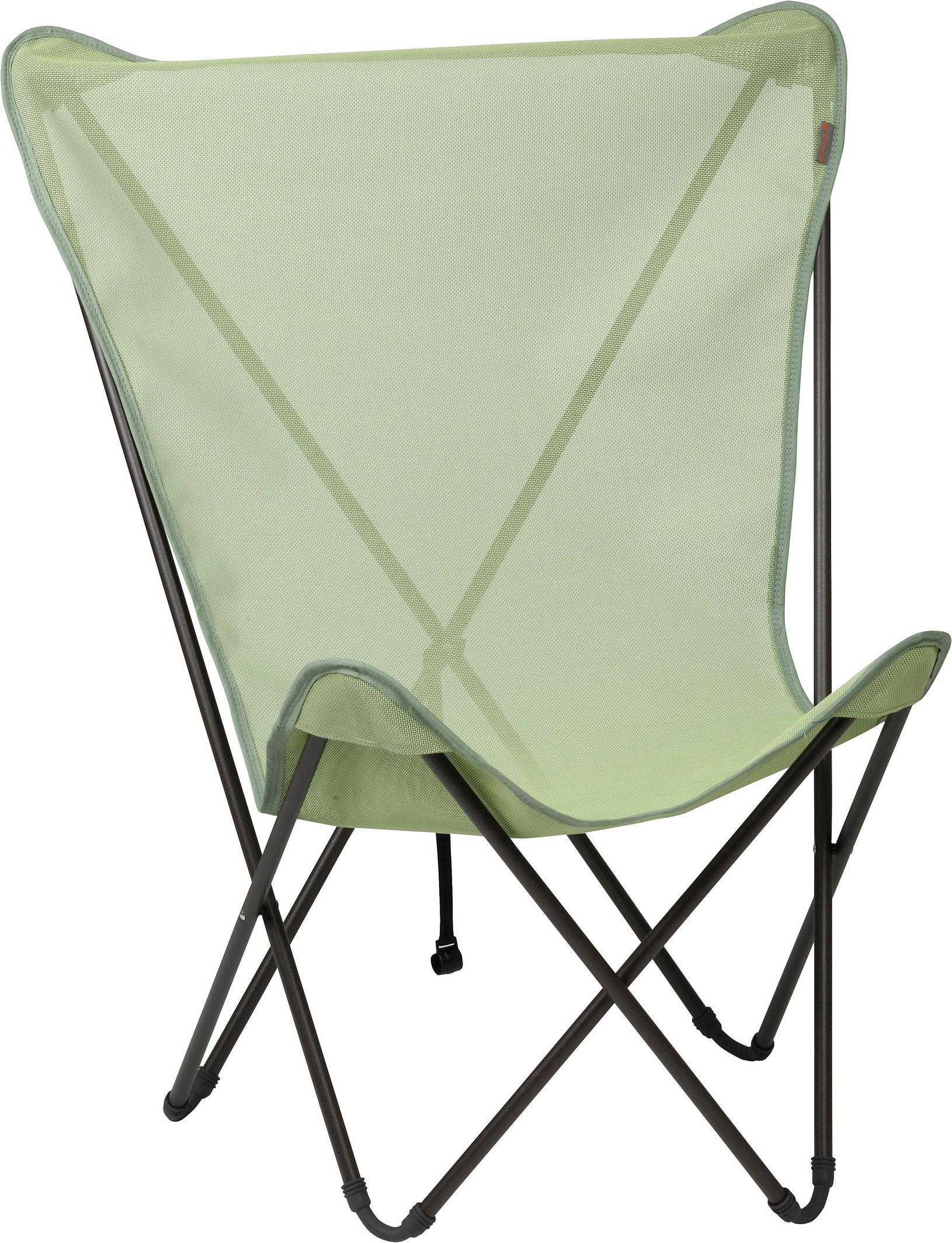 fauteuil maxi pop up pliable vert absinthe structure marron lafuma. Black Bedroom Furniture Sets. Home Design Ideas