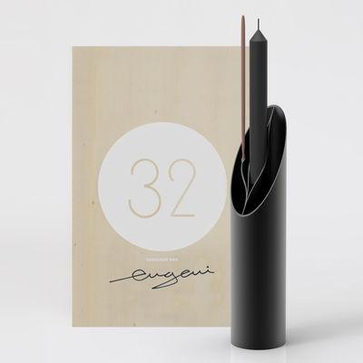 Déco - Vases - Coffret Designerbox#32 / Vase Eva - Edition spéciale dédicacée par Eugeni Quitllet - Designerbox - Noir / Coffret bois - Bois, Plastique