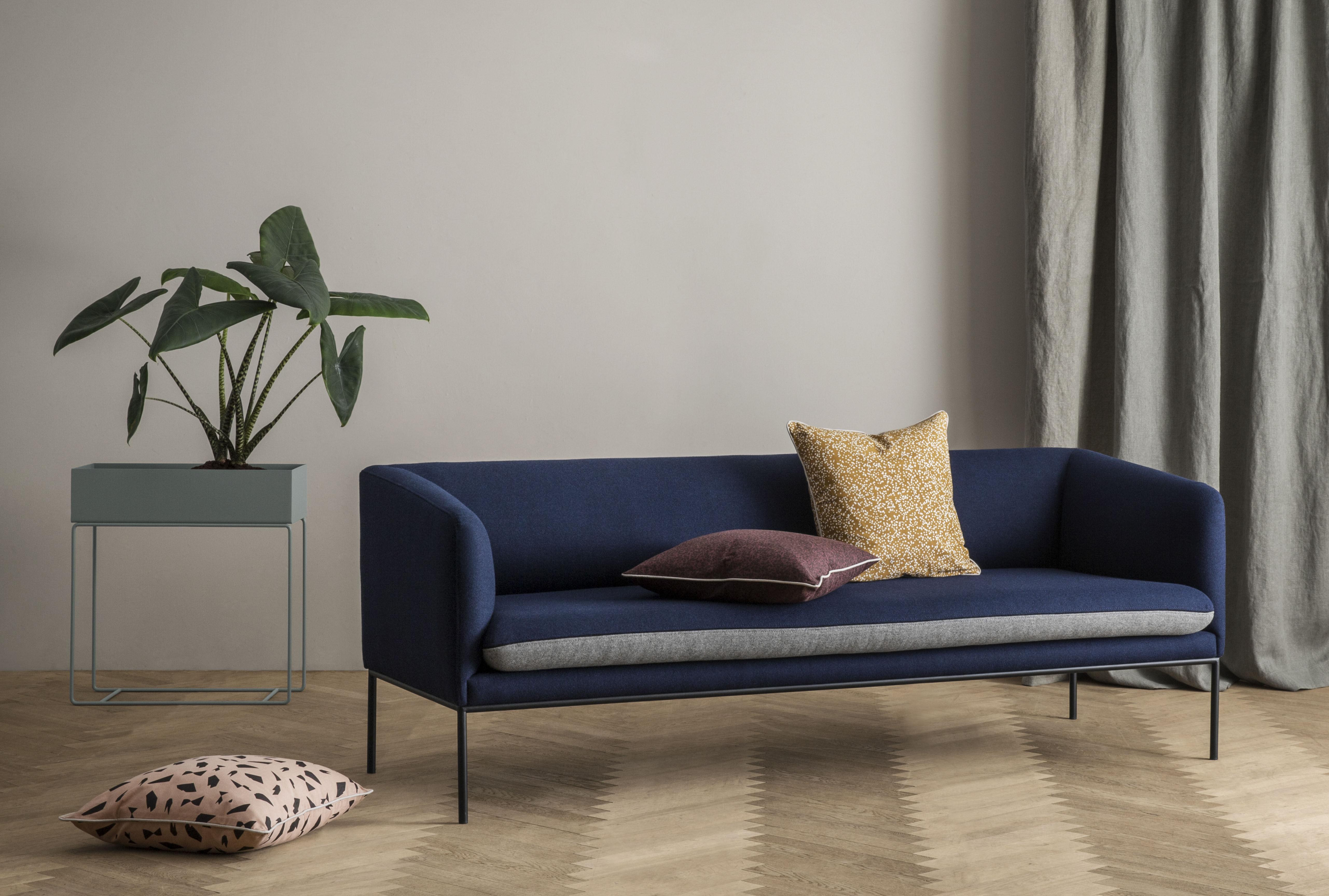spotted 50 x 50 cm ferm living kissen. Black Bedroom Furniture Sets. Home Design Ideas