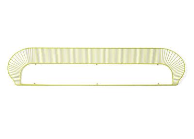 Etagère Loop L 160 cm Petite Friture jaune citron en métal