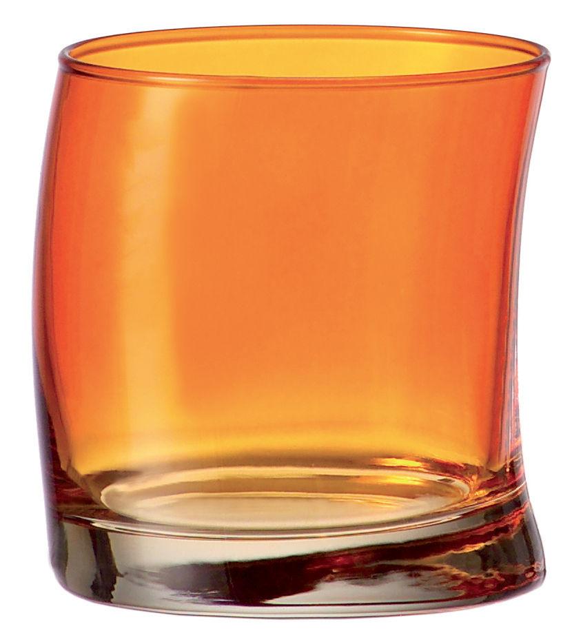 Scopri bicchiere da acqua swing arancione di leonardo for Acqua design italia