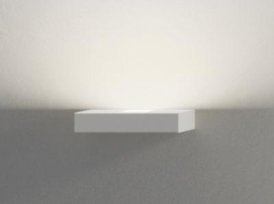 Luminaire - Appliques - Applique Set LED / L 22 cm - Vibia - Blanc - Métal laqué, Polycarbonate