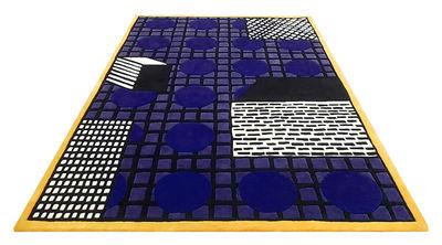 Tapis Tapigri / By Nathalie du Pasquier - 200 x 300 cm - La Chance jaune,violet en tissu