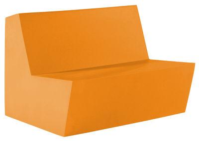 Foto Divano destro Primary Duo - 2 posti di Quinze & Milan - Arancione - Materiale plastico
