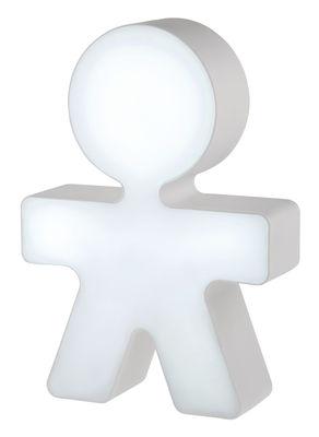 Veilleuse Girotondo / Veilleuse LED - H 20 cm - Alessi blanc en matière plastique