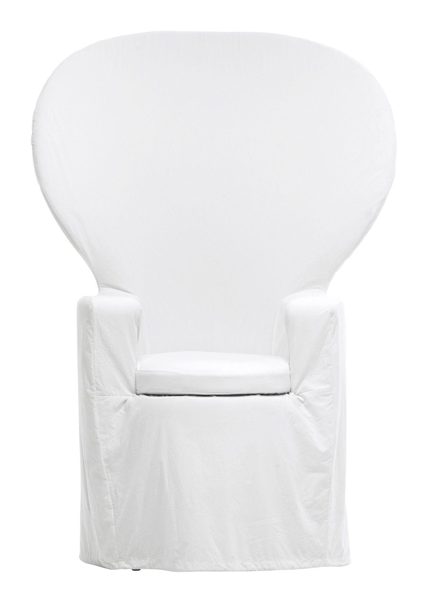 fauteuil emmanuelle by maison martin margiela blanc cerruti baleri. Black Bedroom Furniture Sets. Home Design Ideas