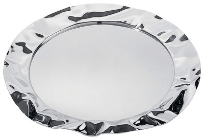 Tableware - Serving Plates - Foix Tray by Alessi - Steel - Steel