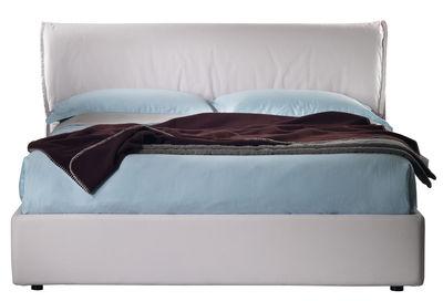Mobilier - Lits - Lit double Hollis / 216 x 180 cm - Dorelan - Beige - Tissu Gokart