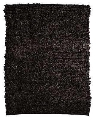 Furniture - Carpets - Bicicleta Rug - 100% recycled by Nanimarquina - Black - Rubber