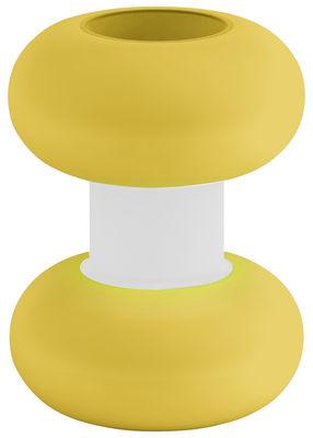 Foto Vaso Faituttotu Vase - Modèle 1 di Serralunga - Bianco,Giallo - Materiale plastico
