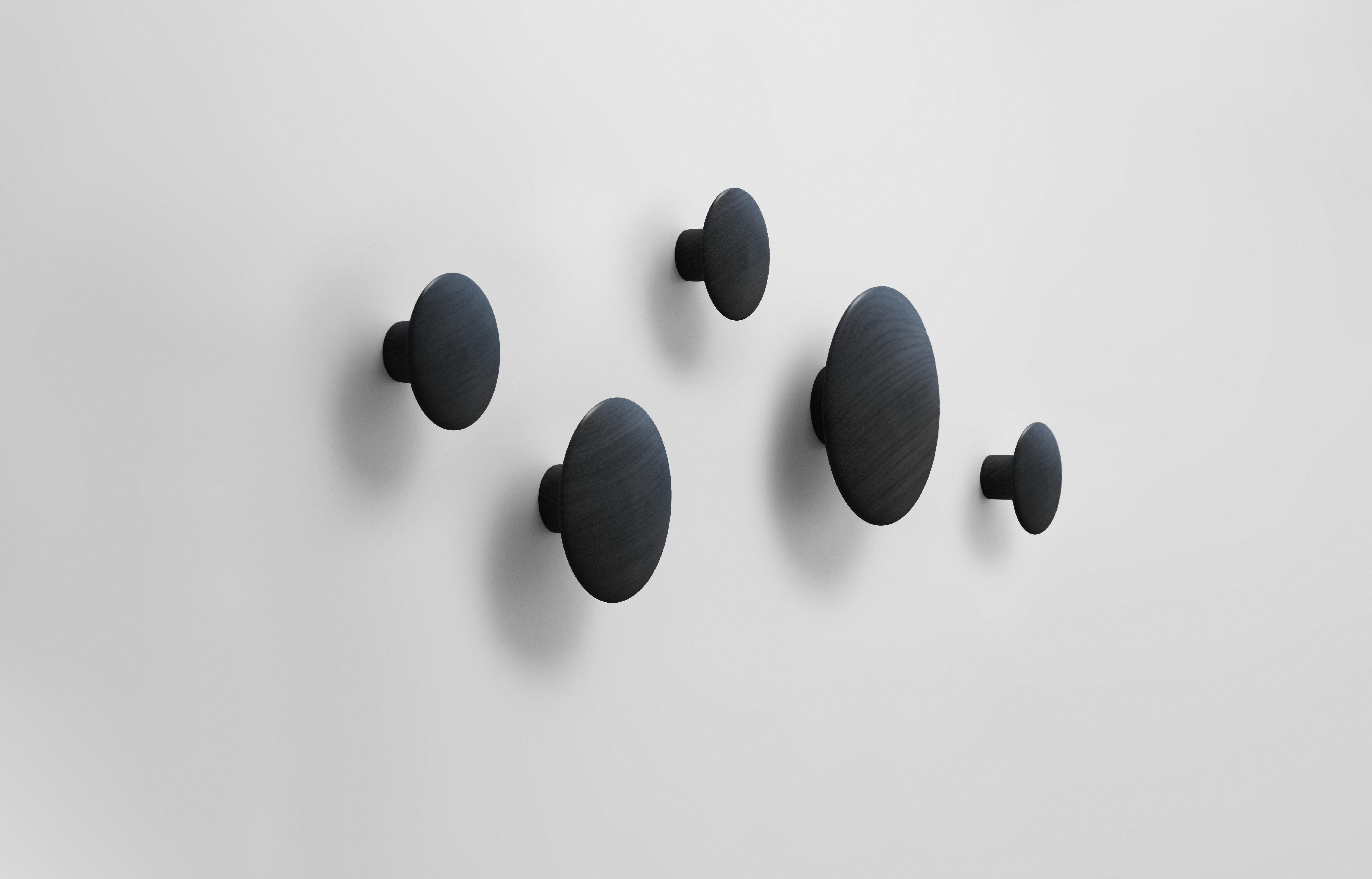 the dots 5 st ck muuto wandhaken. Black Bedroom Furniture Sets. Home Design Ideas