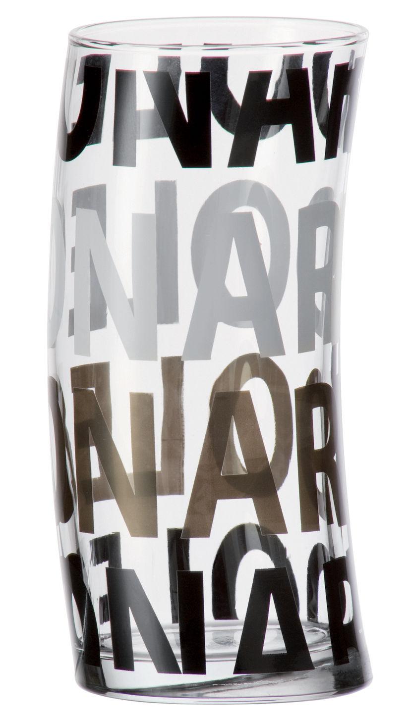 Scopri bicchiere da acqua joy nero di leonardo made in for Acqua design italia