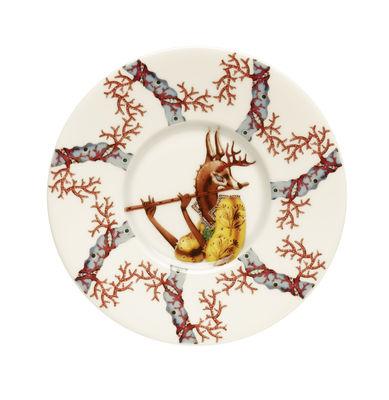 Arts de la table - Tasses et mugs - Soucoupe Tanssi / Ø 15 cm - Iittala - Tanssi / Multicolore - Céramique