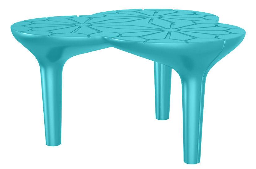 table basse altesse 75 x 72 cm turquoise qui est paul. Black Bedroom Furniture Sets. Home Design Ideas