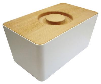brotkasten mit deckel schneidebrett wei by joseph joseph made in design. Black Bedroom Furniture Sets. Home Design Ideas