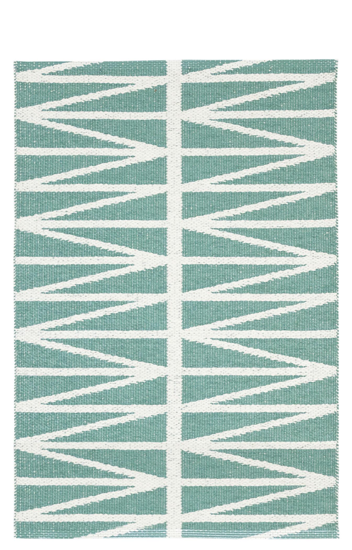 tapis d 39 ext rieur helmi 70 x 100 cm r versible vert d 39 eau blanc brita sweden. Black Bedroom Furniture Sets. Home Design Ideas