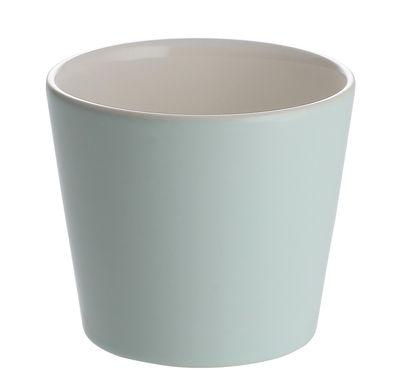 Image of Bicchiere Tonale - Alessi - Bianco,Verde - Ceramica