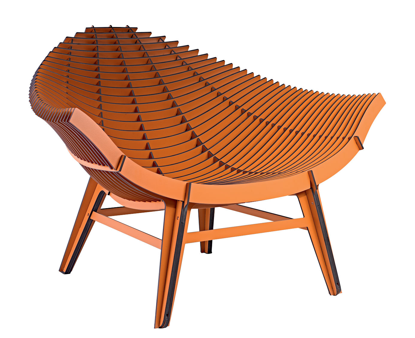 fauteuil bas manta stratifi int rieur ext rieur camel ibride. Black Bedroom Furniture Sets. Home Design Ideas