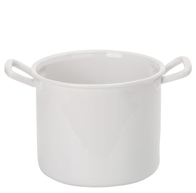 Bol Estetico Quotidiano Pot Ø 19 x H 16 cm Seletti blanc en céramique