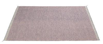 Déco - Tapis - Tapis PLY / 200 x 300 cm - Tissé main - Muuto - Rose - Laine