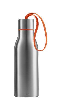 Foto Bottiglia isotermica 0,5 L - Eva Solo - Arancione,Acciaio spazzolato - Metallo