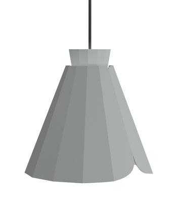 Suspension Ankara Medium / Ø 22 x H 21 cm - Matière Grise gris en métal