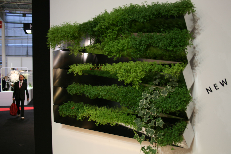 jardini re miroir en herbe murale inox compagnie. Black Bedroom Furniture Sets. Home Design Ideas