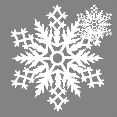 Déco - Objets déco et cadres-photos - Décoration de fenêtre Mino  Flocon n°3 / Set de 2 - Papier - Pa Design - Blanc - Papier Washi
