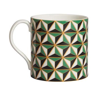 Mug Versailles Carnaby - Jonathan Adler vert en céramique
