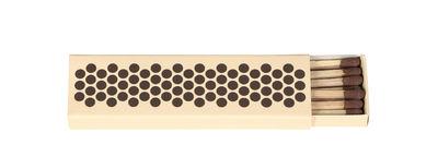 Image of Scatola per fiammiferi Strike - / 11 x 3 cm di Hay - Albicocca - Carta